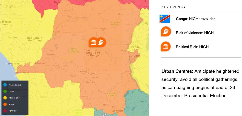 Democratic Republic of the Congo (DRC) Presidential Election