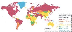 COVID-19 Risk Map