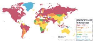 COVID-19 Risk Map 11.05.2020