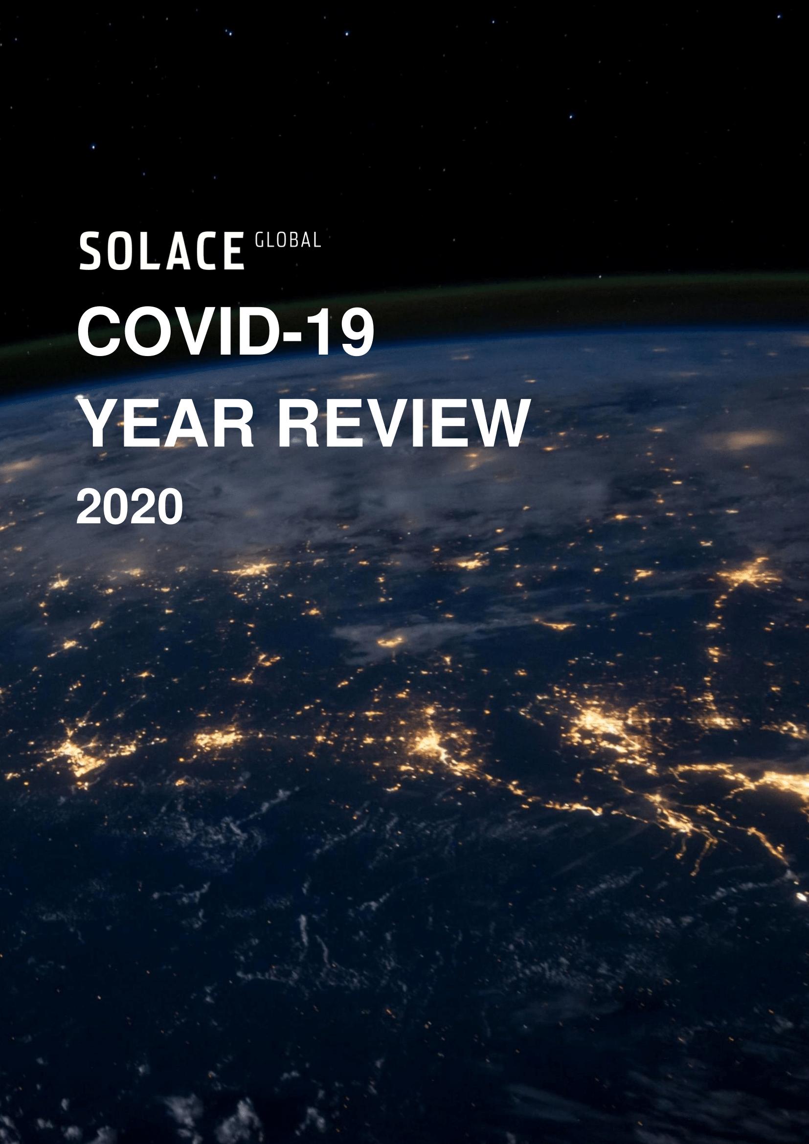 Coronavirus Pandemic Year Review 2020